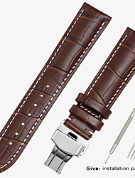 cheap -Substitution Tissot 1853 Men's Leather Watch with Locke Women's Leather Casio Longines Bracelet Accessories 16/18/19/20mm