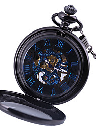 cheap -Men's Pocket Watch Analog Automatic self-winding Fashion Hollow Engraving Casual Watch Cool