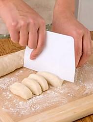 cheap -Cream Smooth Cake Spatula Baking Pastry Tools Dough Scraper Kitchen Butter Knife Dough Cutter