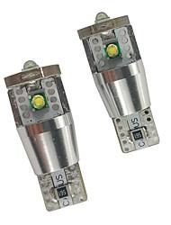 Недорогие -2 шт. 15 Вт can-bus w5w светодиодные лампы для bmw audi benz боковой габаритный фонарь t10 светодиодный свет для чтения 158 194 номерного знака свет белый