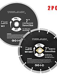 abordables -lame de scie circulaire 7 5/8 2 pcs pour dewalt makita& diamant sec de Ryobi humide