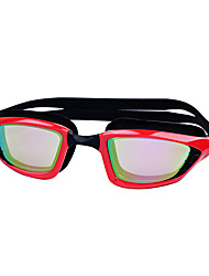 cheap -Swimming Goggles Windproof Swimming Goggles Anti-Fog Outdoor Swimming Silicone Rubber PC Reds Grays Blacks