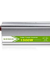 Недорогие -Kesge 1500 Вт модифицированный синусоида DC-AC автомобильный генератор инвертор 12 В / 24 В высокое качество