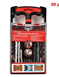cheap -Screwdriver Drill Bit Set Compact Hand Tool Magnetic 50 pcs for DeWalt & Makita