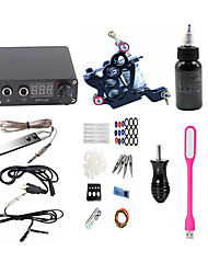 cheap -BaseKey Tattoo Machine Starter Kit - 1 pcs Tattoo Machines with 1 x 30 ml tattoo inks, Professional, New Alloy 220V Case Not Included 18 W 1 alloy machine liner & shader
