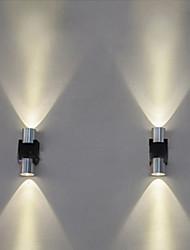 abordables -Créatif / Cool simple / Moderne contemporain Appliques Salle de séjour / Magasins / Cafés Métal Applique murale IP44 AC100-240V 1 W
