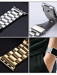 Недорогие -три бусины стальной лентой для серии Apple Watch Smart Watch серии 4/3/2/1 ремешок