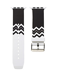cheap -Smartwatch Band for Apple Watch Series 5/4/3/2/1 Silicone Classic Buckle iwatch Strap