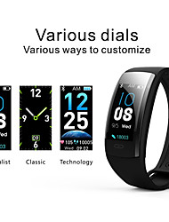 cheap -KING-WEAR® QS90PLUS Women Smart Bracelet Smartwatch Android iOS Bluetooth Waterproof Touch Screen Heart Rate Monitor Blood Pressure Measurement Sports Timer Stopwatch Pedometer Call Reminder Activity