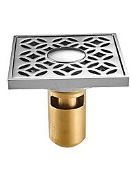 cheap -Drain Creative Brass 1pc - Bathroom Floor Mounted