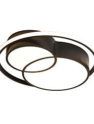 cheap -1-Light QINGMING® 47 cm Dimmable / LED Flush Mount Lights Metal Shell Painted Finishes LED / Modern 110-120V / 220-240V / VDE