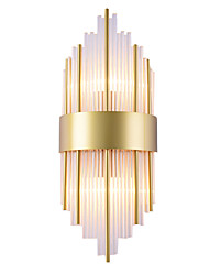 cheap -Ecolight Mini Style Modern Contemporary Novelty Wall Lamps & Sconces Living Room Bedroom Glass Wall Light 110-120V 220-240V 40 W