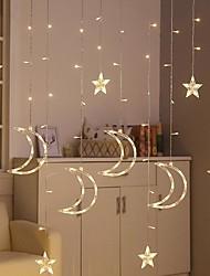 Недорогие -Brelong 8 функция звезды свет строка открытый водонепроницаемый декоративный занавес свет 3.5 м 12led