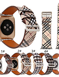 cheap -Smartwatch Band for Apple Watch Series 5/4/3/2/1 Fashion Genuine Leather Band iwatch Strap