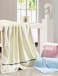 cheap -Superior Quality Bath Towel, Solid Colored Pure Cotton 1 pcs
