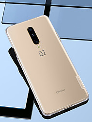 cheap -Case For OnePlus One Plus 6T / One Plus 7 / One Plus 7 Pro Shockproof / Ultra-thin / Transparent Back Cover Solid Colored Soft TPU