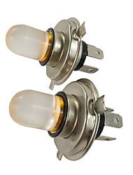cheap -2PCS 10W 800LM PK43T 4300K LED Foglight Amber Color