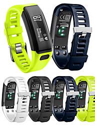 cheap -1 PCS Watch Band for Garmin Sport Band Silicone Wrist Strap for Vivosmart HR