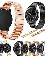abordables -Bracelet de Montre  pour Samsung Galaxy Watch 42 Samsung Galaxy Bracelet Sport Métallique Sangle de Poignet