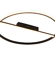 cheap -1-Light 60 cm Flush Mount Lights Aluminum Geometrical Artistic / Chic & Modern 110-120V / 220-240V