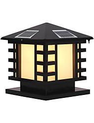 cheap -QINGMING® 1pc 3 W Waterproof / Solar / Light Control Warm White+White 3.7 V Outdoor Lighting / Courtyard / Garden 1 LED Beads