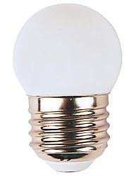 cheap -1pc 1 W LED Globe Bulbs 80 lm E26 / E27 G45 8 LED Beads SMD 2835 Party Decorative Christmas Wedding Decoration Warm White White Red 220-240 V / RoHS