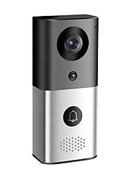 Недорогие -Беспроводной Wi-Fi видео дверной звонок для смартфонов&усилитель; ip-видео домофон с низким энергопотреблением