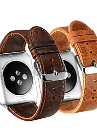 cheap -crazy horse band for apple watch series smart watch Series 5/4/3/2/1 wrist strap