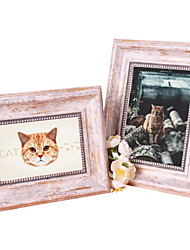 cheap -European Style Plastic Shiny Picture Frames Wall Decorations, 1pc Picture Frames