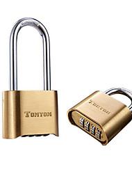 Недорогие -кодовый замок меди ty25002 для багажа / двери / спортзала&усилитель; спортивный шкафчик