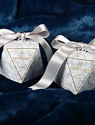 Недорогие -Необычные Розовая бумага Фавор держатель с Ленты Обустройство дома / Подарочные коробки - 50 ед.