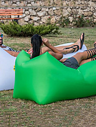 cheap -Air Sofa Inflatable Sofa Sleep lounger Air Bed Design-Ideal Couch Outdoor Camping Waterproof Portable Moistureproof Comfortable Oxford 260*70 cm for 1 person Camping / Hiking Beach Traveling Fall