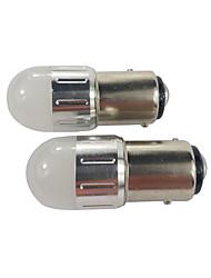 Недорогие -Автомобиль bay15d свет 5 Вт 3030 1157 светодиодный стоп-сигнал Nissan стоп-сигнал белого цвета