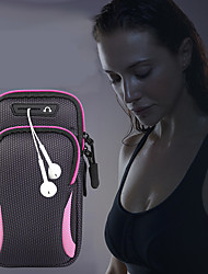 cheap -Running bag Unisex bag baggap sports jogging gym with holder bag mobile phone headset bag waterproof 6.4 inch hand bag phone case for iphone
