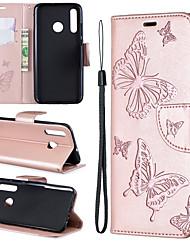 Недорогие -Чехол для мобильного телефона Samsung с защитой от падения и слотом для карты с тиснением в виде бабочки для Samsung S10 / S10 Plus / S10E / S9 / S9Plus / все включено чехол для мобильного телефона