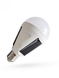 Недорогие -1шт 15 W Круглые LED лампы 510-610 lm E26 / E27 26 Светодиодные бусины Солнечная энергия Экстренная ситуация Холодный белый 85-265 V