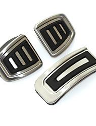 Недорогие -крышка педали автомобиля из нержавеющей стали для Volkswagen VW Polo Bora Jetta Golf 4 IV Jetta MK4 MK4 Lavida Skoda Fabia Audi A1 A3 TT быстро