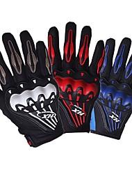 cheap -Men 3D Motorcycle Mesh Gloves Full Finger Ergonomic Motorbike Motocross Glove