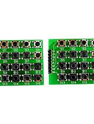Недорогие -Матричный модуль клавиатуры 4x4 с 16 клавишами на клавиатуре