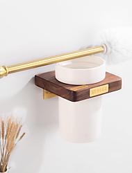 cheap -Toilet Brush Holder Creative Fun & Whimsical Wood 1pc - Bathroom / Hotel bath