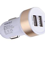 Недорогие -Автомобиль Автомобильное зарядное устройство 2 USB порта для 12 V