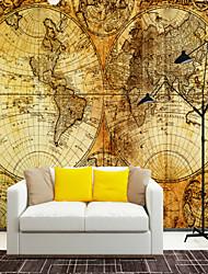 Недорогие -карта подходит для ТВ фоне стены обои фрески гостиная кафе ресторан спальня офис xxxl (448 * 280 см