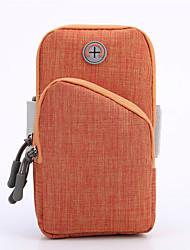 abordables -Unisexe Fermeture Tissu Oxford Mobile Bag Phone Bloc de Couleur Bleu Marine / Gris / Jaune / Automne hiver