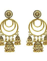 cheap -Women's Drop Earrings Earrings Jewelry Gold / Silver For Holiday 1 Pair