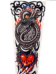 cheap -LITBest 1 pcs Temporary Tattoos Universal / Classic / Creative brachium Nylon Sleeve Tattoos