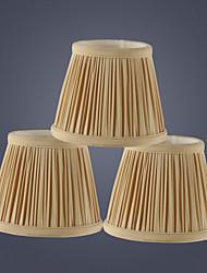 cheap -Lampshade Eye Protection / Decorative / Lovely Metallic / Traditional / Classic For Girls Room / Kids Room Fabric Eggshell(EG) / Orange / White