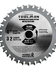 cheap -Toolman Circular Saw Blade Universal Fit 4 32T For Metal Aluminum Steel & wood