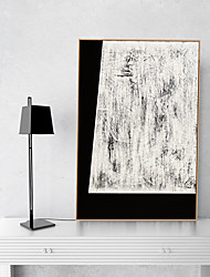 cheap -Framed Art Print Framed Canvas Prints - Abstract PS Oil Painting Wall Art