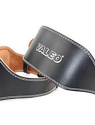 cheap -Weight Lifting Belt for Fitness Sports Calfskin / Flannel 1 Piece Black