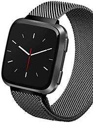 cheap -Smart Watch Band for Fitbit 1 pcs Milanese Loop Stainless Steel Replacement  Wrist Strap for Fitbit Versa